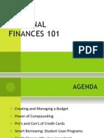 Personal Finance 101 - Final Copy