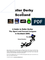 Roller Derby in Scotland 2009