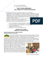 Informe Visita Tecnica Bogota