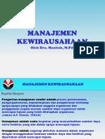 Manajemen Kewirausahaan 2-Dra. Masitoh, M.pd.