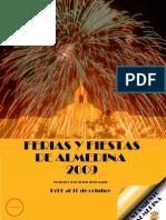 Almedina FYT Fiestas Patronales 20091000 00 Programa