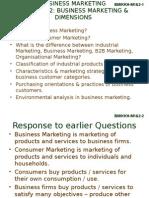 Businesss Marketing