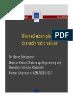 04we Schuppener Worked Example Characterstic Values