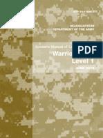 US Army Warrior Skills Level 1 2009 Edition