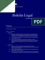 Boletin Legal Septiembre 2004 Draw Back