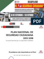 Plan Nacional de Seguridad Ciudadana 2013 - 2018
