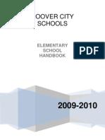 Elementary Handbook 2009-2010