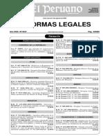 Ley 28859 Anulación Multas al Sufragio