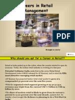 Careers Retail Management