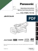Panasonic AG HMC151
