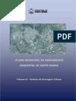 Plano Municipal de Saneamento Santa Maria_volume_III