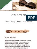 Warby Parker brand management