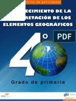 Geografía 4 Grado Primaria