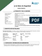 MSDS Senatel Series - Chile -REV1