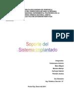 Soporte Del Sistema Implant a Do