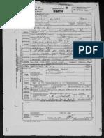 Son of Roland Whitford Death Cert