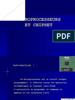 MicroProcesseurs Et ChipSet