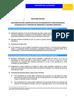 Documentación a presentar 2013-2014