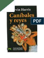 Harris, Marvin - Caníbales y reyes