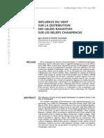 Influence du vent sur la distribution des gelées radiatives sur les reliefs champenoismeteo_2000_29_42
