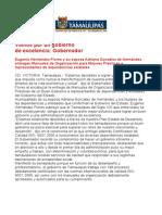 com 0431, 041105 Eugenio Hernández Flores entrega manuales de organización.