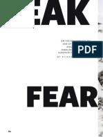 Peak Fear