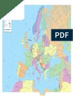 Mapa Politico Europa
