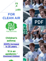 'IDLE-FREE for our kids' - Children's Hospitals