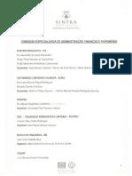 Composição das  Comissões Especializadas da Assembleia Municipal de Sintra