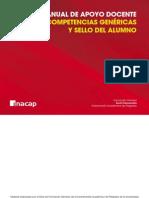 Manual apoyo docente Competencias Genéricas y Sello