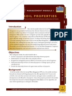 Soil and Water Properties
