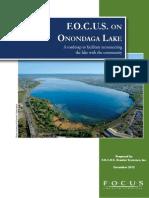 FOCUS Greater Syracuse report on Onondaga Lake