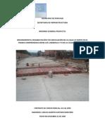 Informe General Pavimentación Popayan
