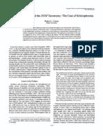 Carson Aristotle, Galileo, And the DSM Taxonomy_1996