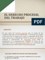 PRESENTACIÓN El derecho procesal del trabajo-CONCHITA