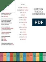 Coleccion Teologica Contemporanea