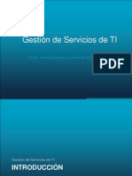 Gestion Servicios TI V1.0(SM)