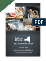 New York Executive Budget Briefing Book 2014/15