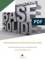 Bilan Et Cpc Banque Populaire