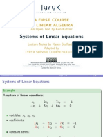 1. SystemsofEquations Handout