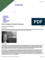 Sobre El Legado de Clement Greenberg | Revista Replicante