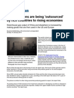 CO2 Emissions Are Being Outsourced