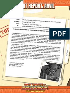 Threat Report - Anvil PDF | Copyright | Derivative Work