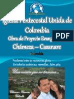 INFORME MISIONERO CHÁMEZA - CASANARE