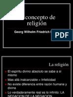 El Concepto de Religion