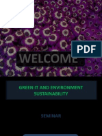 Green IT & Environmental Sustainibiity