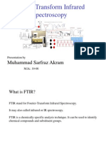 Fourier Transform Infrared Spectroscopy