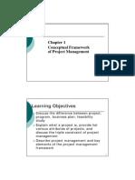 Conceptual Project Management