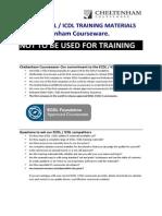 Samples Ecdl v5.0 Module 7 Office 2007 Manual