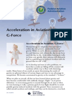Acceleration in Aviation - G-Force - Federal Aviation Administration